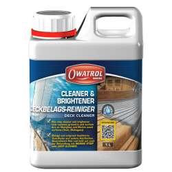 OWATROL DECK CLEANER - čistič a rozjasňovač zašedlého dřeva
