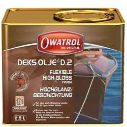 OWATROL DEKS OLJE D.2 - olejový lak s vysokým leskem